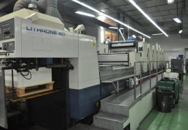 MÁY IN OFFSET KOMORI LITHRONE 40